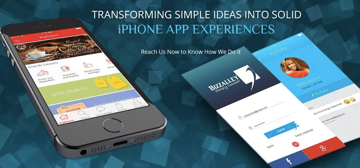 iPhone App Development in Riverside
